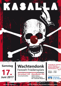 Schützenfest mit Kasalla Wachtendonk 2017