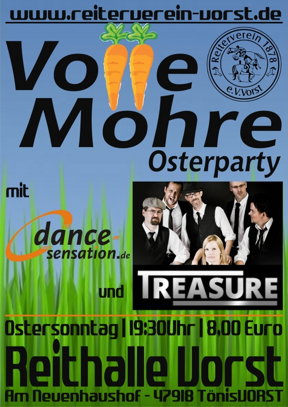 Volle Möhre Osterparty 2017