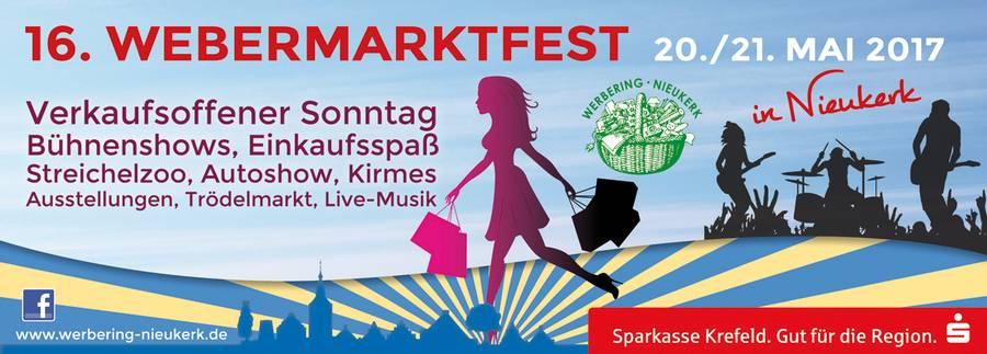 Webermarktfest in Nieukerk 2017 (Tag2/2)