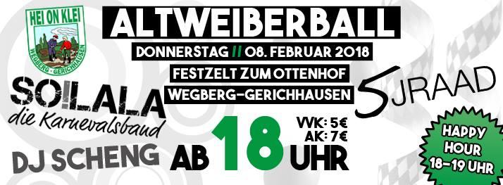 Altweiberball 2018