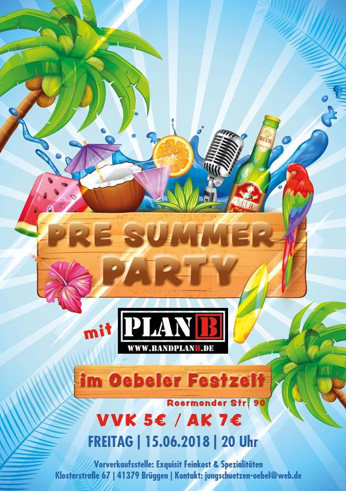 Pre-Summer-Party