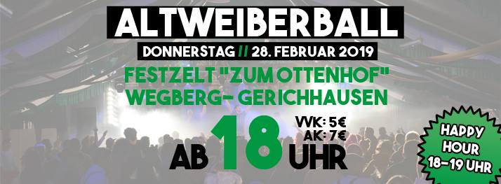 Altweiberball 2019 bei Hei on Klei
