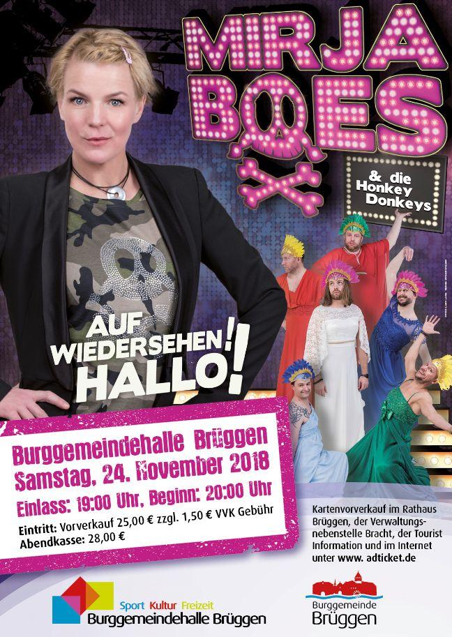 Auf Wiedersehen! Hallo! mit Mirja Boes